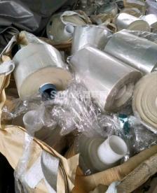 收购pet废膜透明干净