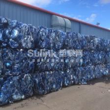 美国回收PET蓝色加仑桶