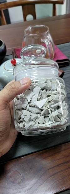 灰白PP洗衣机破碎料