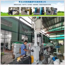 PE给水管设备高速生产线
